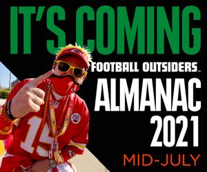 Football Outsiders Almanac 2021 Coming Mid-July