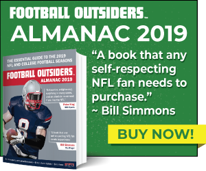 Football Outsiders 2019 Almanac banner