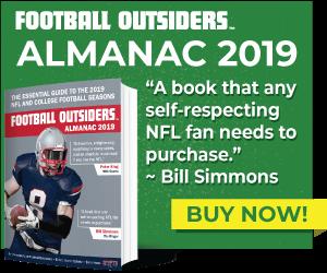 Football Outsiders 2019 Almanac banner