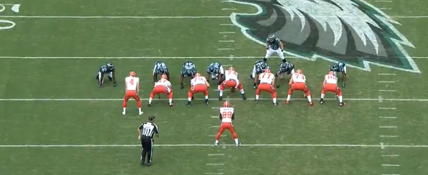 7c75b70a8 ... just used this formation to run a sweep that lost yards on fourth-and-5  in his own territory. Yeah, that's the punter at tight end and a running  back in ...