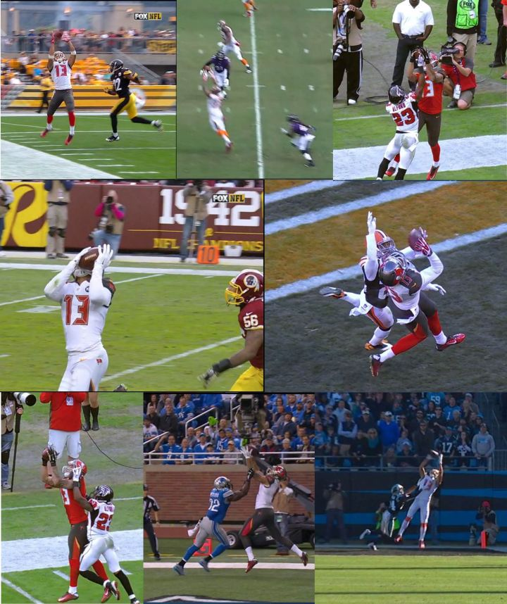 Nfl One Handed Catches 2014